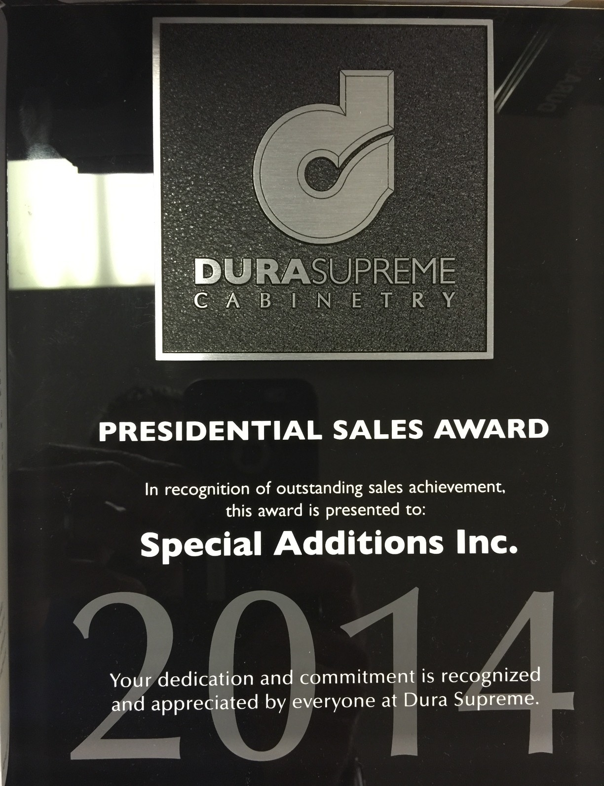 2014 Presidential Sales Award Special Additions