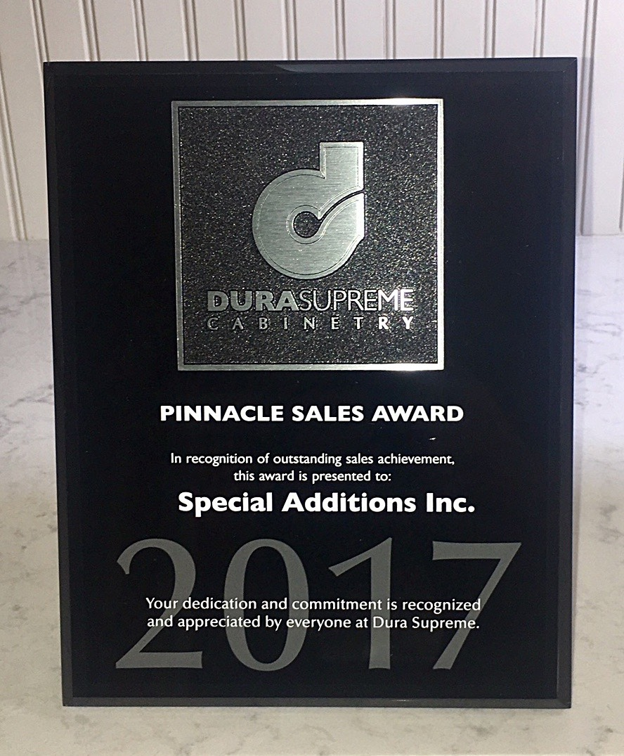 2017 Pinnacle Sales Award