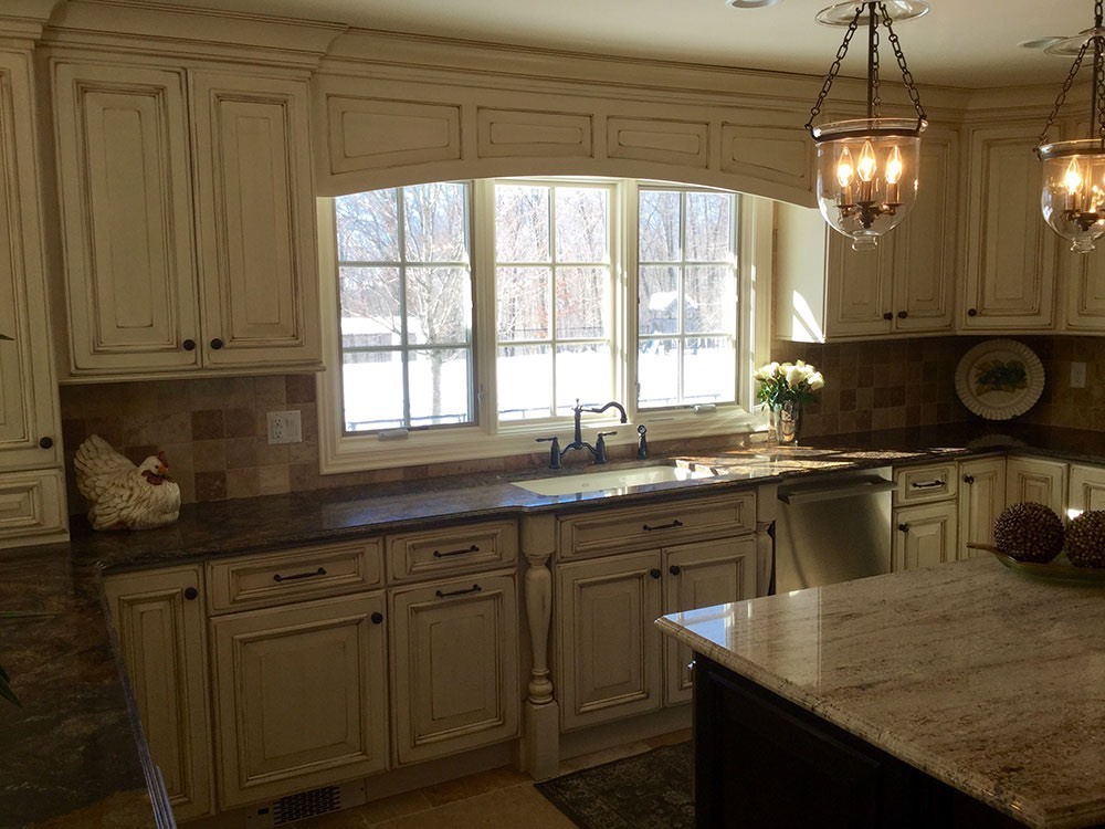 Old Style Kitchen Counter