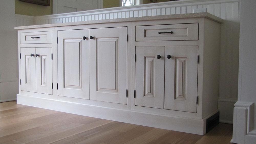 Modern White Cabinets