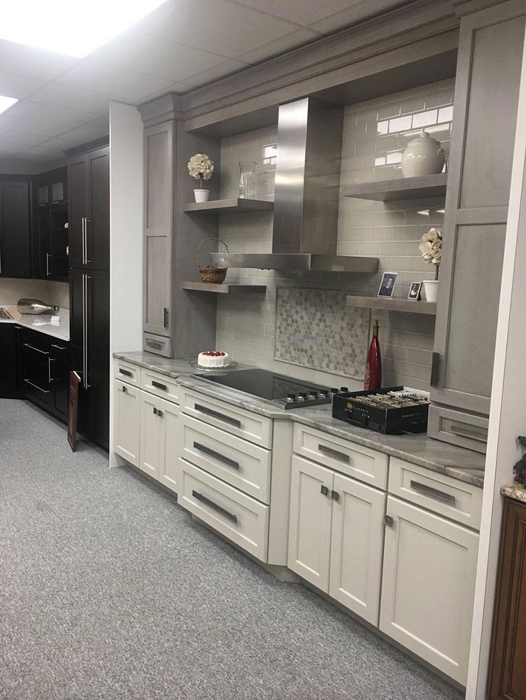 Modern Kitchen Stove and Counter