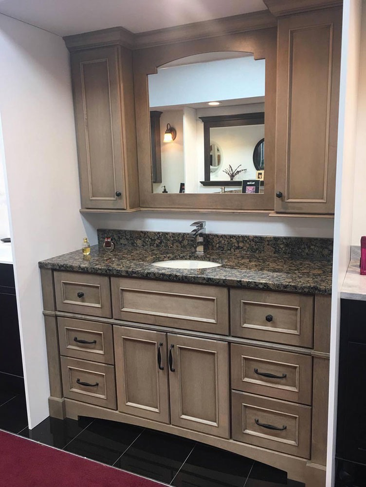 Modern Sink with Cabinets