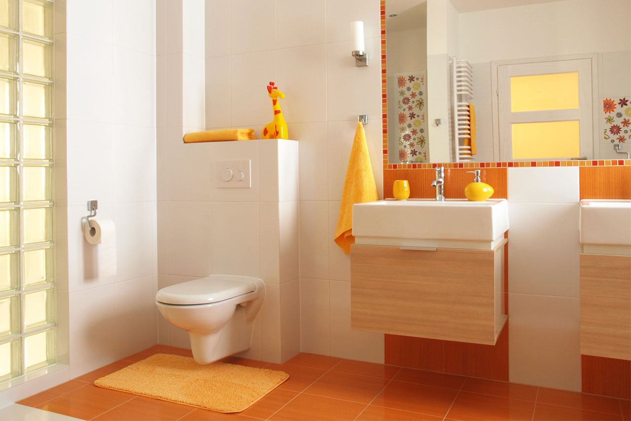 Safe Children's Bathroom Designs