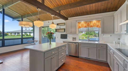 How to Match Wood Flooring to Your Cabinets
